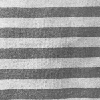 Grey Stripe print